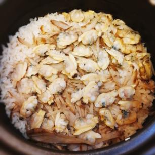 アサリご飯1
