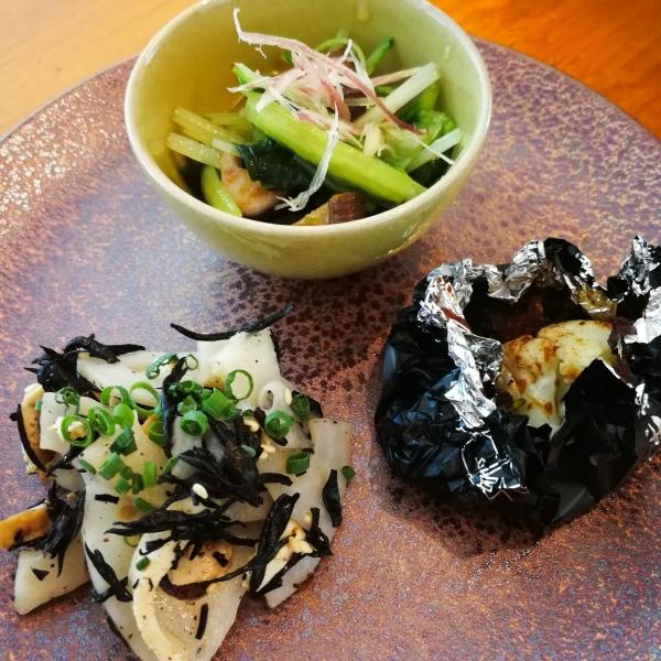 2019.12 前菜3種